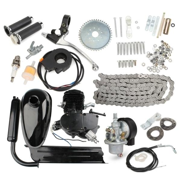 2-Stroke 80cc Motorized Bike Engine Kit - The Tinkertown