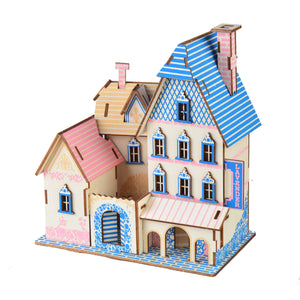 3D Woodcraft Blue Shore Lisher Kit - The Tinkertown