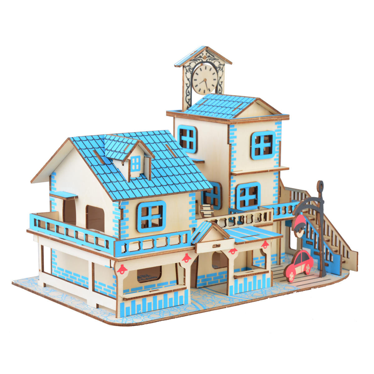 3D Woodcraft Charming Aegean Sea Kit - The Tinkertown