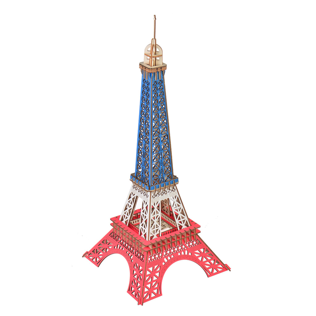 3D Woodcraft Eiffel Tower Kit - The Tinkertown