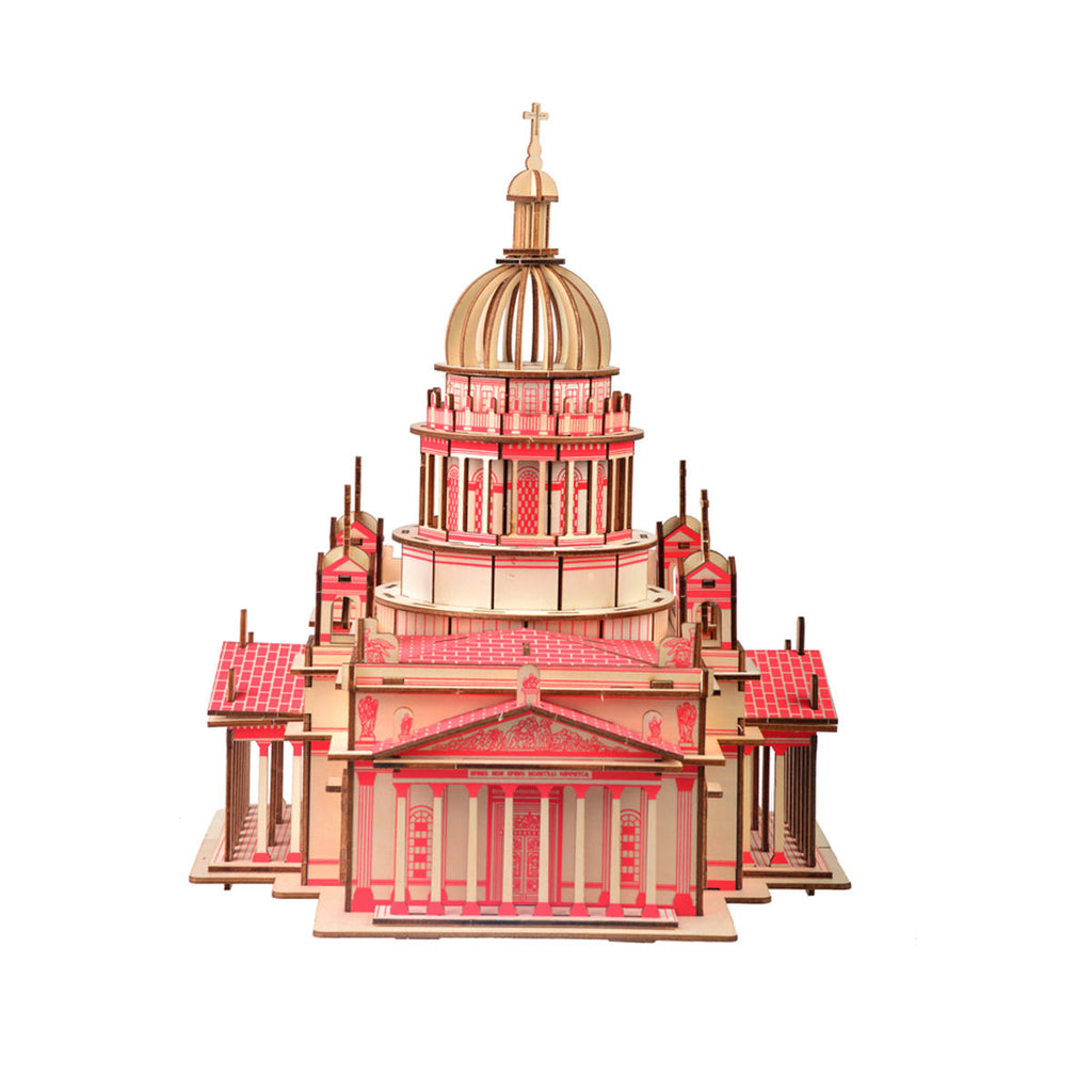 3D Woodcraft Kiev's Cathedral Kit - The Tinkertown