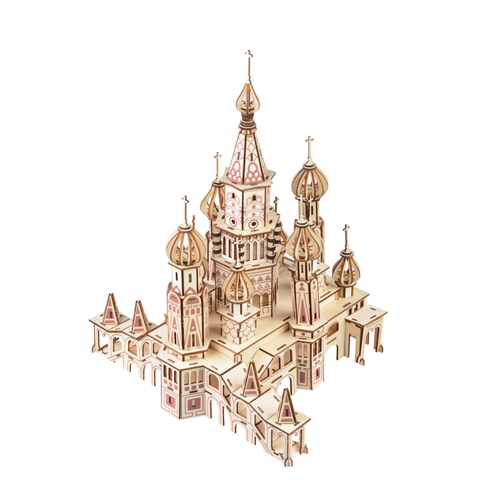 3D Woodcraft Saint Basil's Cathedral Kit - The Tinkertown