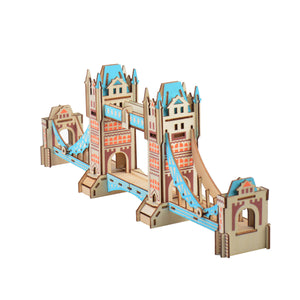 3D Woodcraft Tower Bridge Kit - The Tinkertown