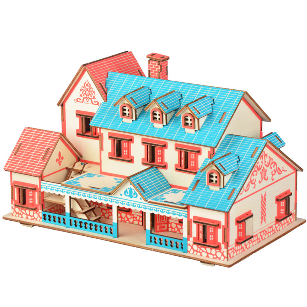 3D Woodcraft Villa Narati Kit - The Tinkertown
