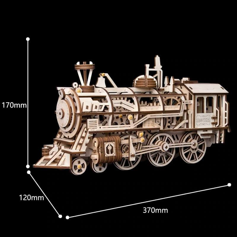 3D Woodcraft Locomotive Kit - The Tinkertown