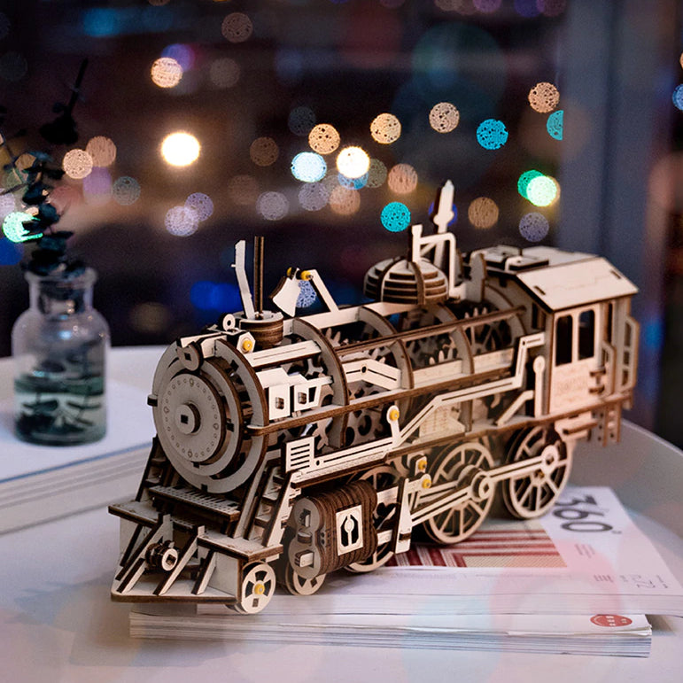 Locomotive Mechanical Model Kit - The Tinkertown