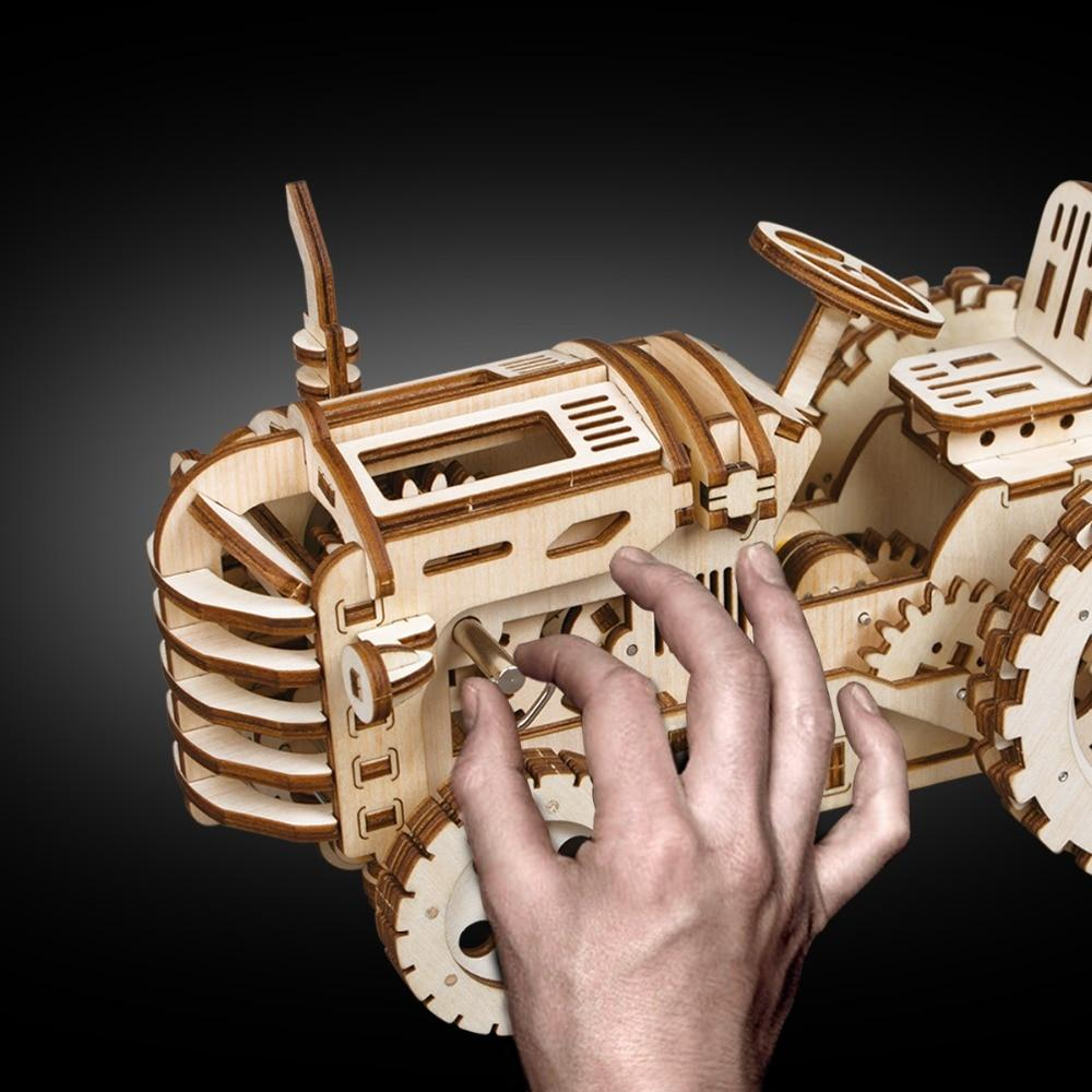 3D Woodcraft Tractor Kit - The Tinkertown