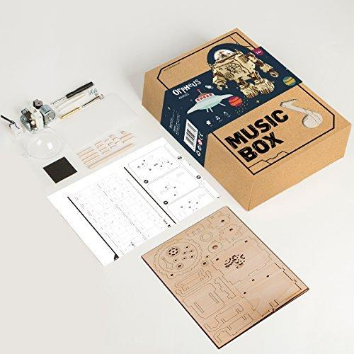 Orpheus Steampunk Music Box Kit - The Tinkertown