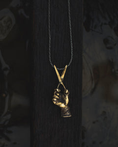 """Reciso"" - Pendant in Brass"