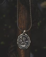 "Load image into Gallery viewer, ""Sorgere"" - Pendant in Sterling Silver"