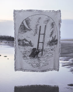 """Sorgere"" - Woven Throw Blanket - 48 x 60 inches"
