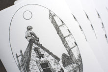 "Load image into Gallery viewer, ""Umbria"" Limited Edition Drawing Print"