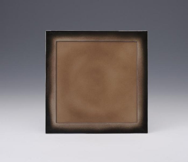 square dinner plate from aritayaki