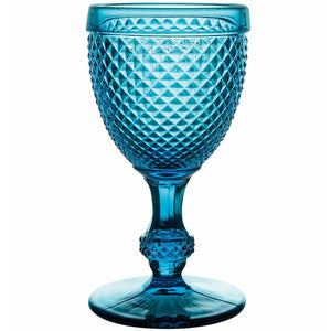 Bicos Water Goblets Set of 4 Blue
