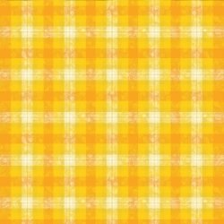 "Garnier-Thiebaut Coated Tablecloth Mille Panache Canary 69"" Square"