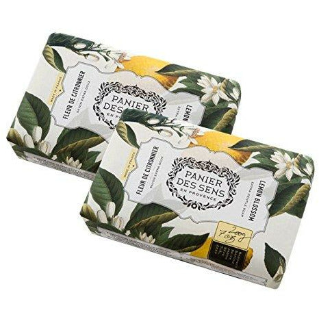 Lemon Blossom Shea Butter Soap x 2 Bars (7oz. each)