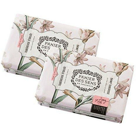 Shiny Tuberose Shea Butter Soap x 2 Bars (7oz. each)