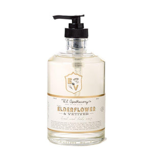 U.S. Apothecary Elderflower & Vetiver Hand & Body Soap