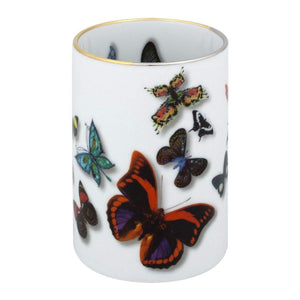 Christian Lacroix Butterfly Parade Vase & Pencil Holder