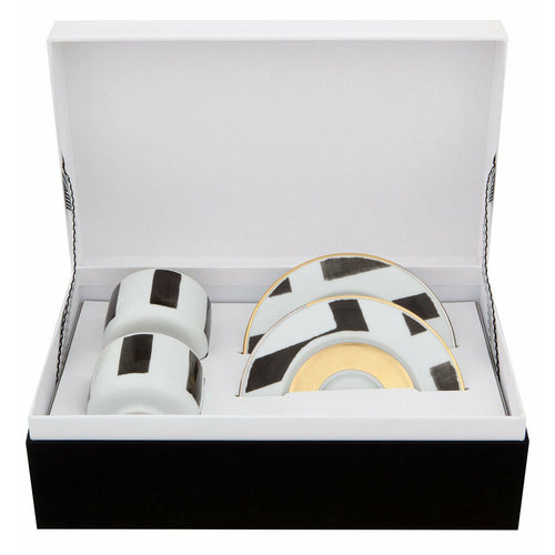 Christian Lacroix Coffee Cup & Saucer Sol y Sombra (Set of 2)