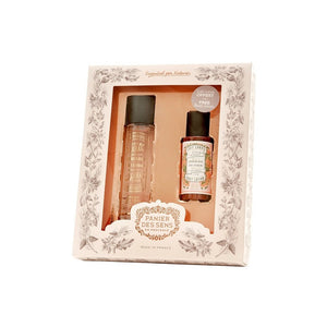 Rose Geranium Eau de Toilette and Body Lotion Set