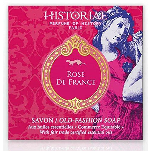 Historiae Rose De France Perfumed Soap Bar