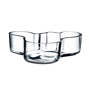 Aalvar Aalto Serving Bowl Clear