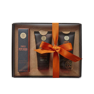 Black Pepper Shave Travel Set