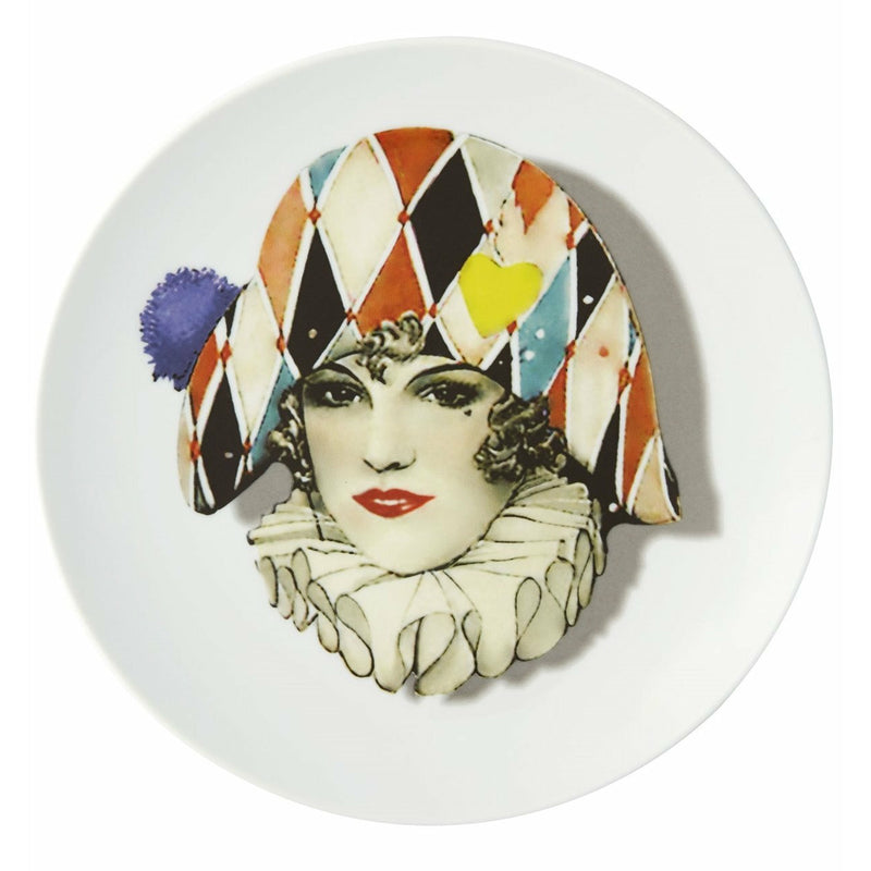 Christian Lacroix Love Who You Want Dessert Plate - Miss Harlequin
