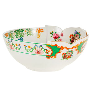 Hybrid Zaira Salad Bowl Porcelain Multicolor