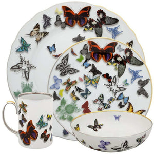 Vista Alegre Butterfly Parade 4 Piece Set