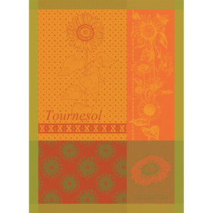 Tournesol Yellow French Kitchen Towel