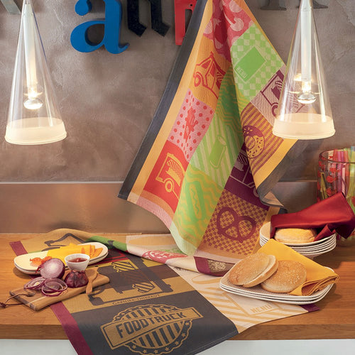 Street Food Kitchen Towel