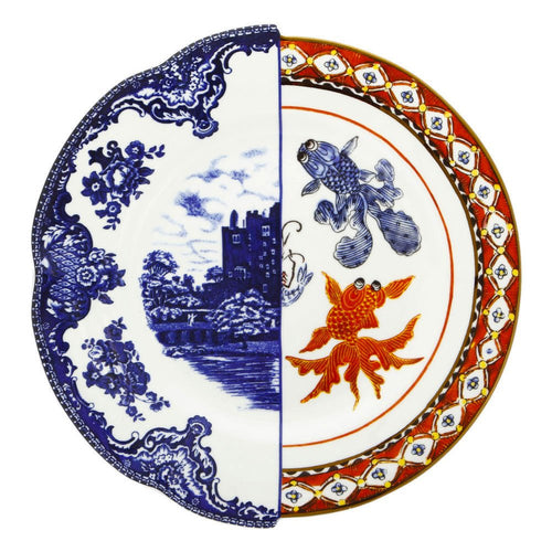 Hybrid Isaura Dinner Plate Multicolor Porcelain