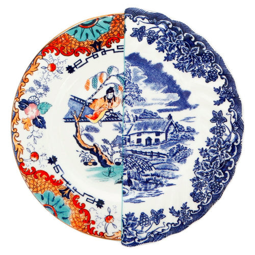 Hybrid Valdrada Salad Plate Porcelain (Set of 2) Multicolor
