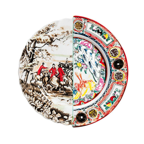 Hybrid Eusapia Dinner Plate Porcelain Multicolor