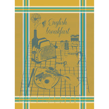 Load image into Gallery viewer, English Breakfast French Kitchen Towel