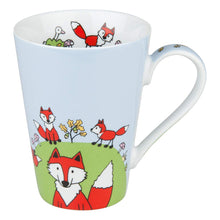 Load image into Gallery viewer, Konitz Mug Globetrotter Fox Porcelain