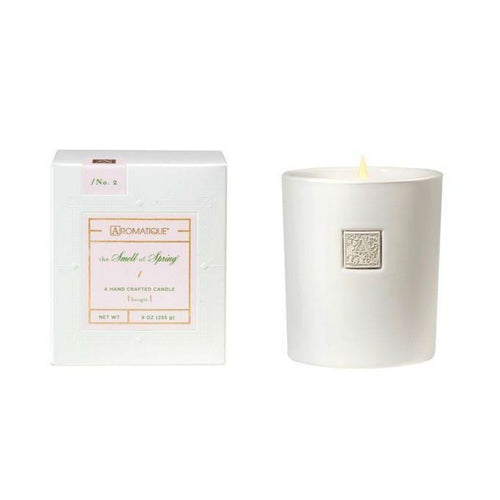 The Smell of Spring Boxed Candle in Glass 9 oz