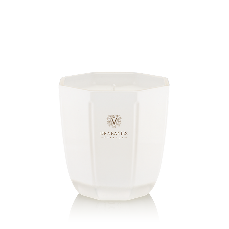 Dr. Vranjes Ginger Lime Candle - Pearl White