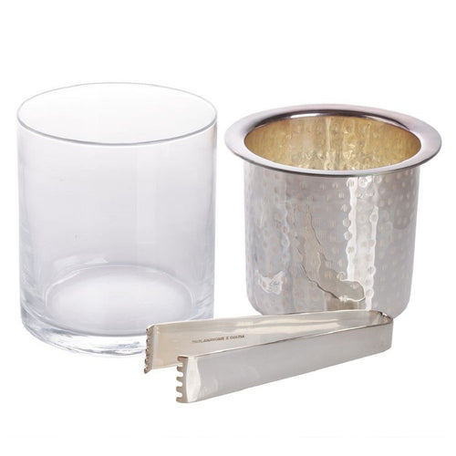 Chandi Inside Ice Bucket Silver Plated