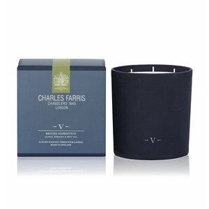 British Expedition Scented  3 Wick Scented Candle 22.6 oz