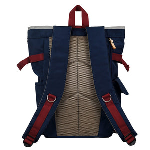 Harvest Label Urban Rolltop Backpack 2.0 - Navy