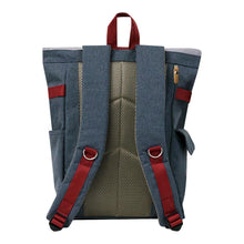 Load image into Gallery viewer, Harvest Label Connect Rolltop Backpack Plus - Grey