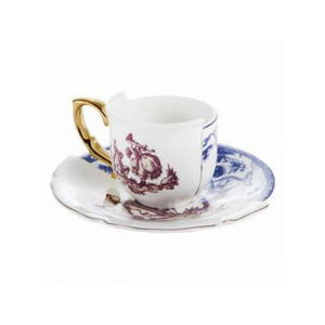 Hybrid Eufemia Coffee Cup and Saucer Porcelain Multicolor