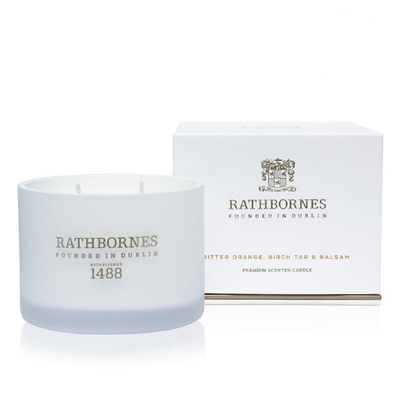 Rathbornes Orange and Balsam Two Wick Classic Scented Candle
