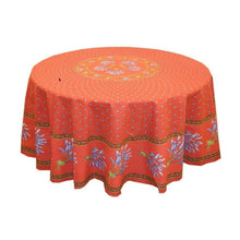 Load image into Gallery viewer, Lavender Red Coated Tablecloth (sizes available)
