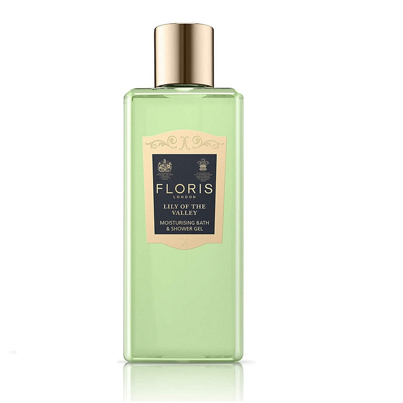 Floris Lily of the Valley Moisturizing Bath and Shower Gel 8.4 fl. oz.