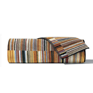 Missoni Jazz Brown Stripes Towel 160