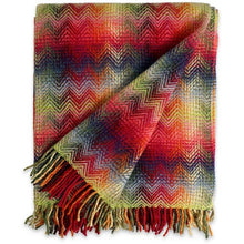 Load image into Gallery viewer, Missoni Montgomery Red Multicolored Throw 156